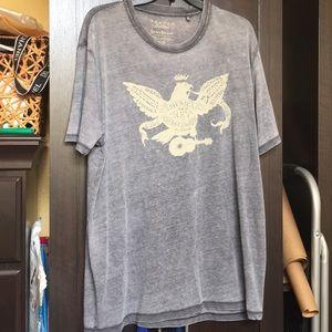 Lucky brand burnout T-shirt xl / tg
